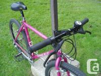 CycleTech Elite mountain bike 18 inch 21-speed CroMo
