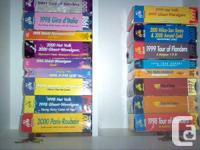 collection of  70 SEVENTY  vhs videos from 1990s early