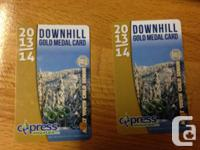 I have a couple of Cypress Mountain Downhill Gold Medal