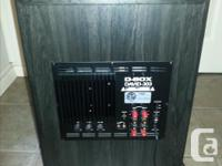 """D-BOX DAVID-303 12"""" Powered Subwoofer If you want to"""