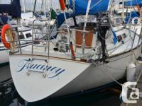 The C&C 34 is a roomy efficiency cruiser that is a