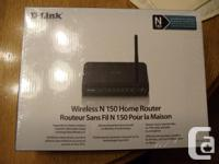 For Sale D-Link Router used very little asking $ 5.00