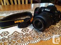 I have an utilized Nikon D3100 available for sale! I, used for sale  Quebec