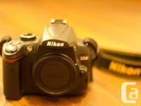 Selling NIKON D5000 body JUST in clean and excellent