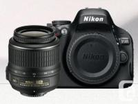 Nikon D5100 SLR Video camera in excellent problem., used for sale  British Columbia