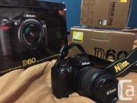 Hey! I have a Nikon D60 DLSR electronic camera that I