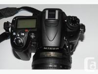 Nikon Digital Camera physical body with 35mm lens, for sale  British Columbia