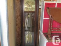 THIS GRANDFATHER CLOCK WAS IN THE WORKPLACE OF A MAIN