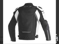 Dainese super speed textile jacket sz 54 euro/44 US in