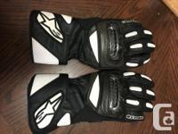 Alpinestars Jaws leather jacket size 58 euro/48 US with