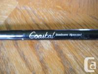 "7'6"" brand new Coastal inshore trigger rod one piece"