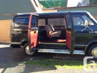 Make Dodge Model Ram Van Year 1985 Colour Black Trans