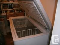 Excellent shape. Danby Chest Freezer Model Number