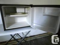 DANBY Countertop Compact Fridge; in good condition;