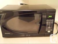 Black Danby microwave oven in great condition.