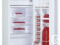 Danby Model DCR 34W mini fridge. Needs new thermostat.