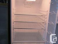 Available is Danby refrigerator with freezer leading