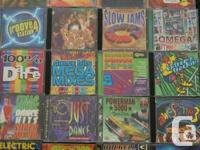 40 Dance/techno/club music CDs in a great condition for