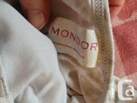 Mondor gymnastics or dance one-piece outfit. Zig-zag