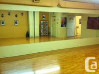 The Egyptian Dancing Academy's 2 rooms are now offered