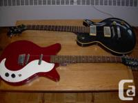 Two guitars to sell. Both are working, but need strings