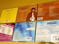 Daniel O`Donnell Cd collection includes 6 CD`s. Asking