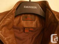 Danier Leather Made in Canada Coat -still selling on US