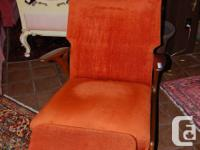 Set consists of: Teak framed sofa (355.00), yellow