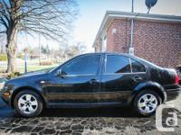 2001 Volkswagen Jetta 2L GLS, 5 speed handbook