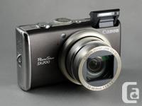 Offering my mint condition Canon PowerShot SX200 IS.
