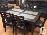 Primo 1124 7 piece dinette - $399 + tax All Sales
