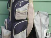 Datrek golf cart bag. Excellent condition. 14-way club