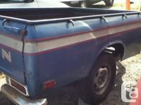 Selling a Truck box from a Datsun 520/521 It will fit