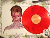 David Bowie Aladdin Sane Vinyl LP. Beautiful pressing