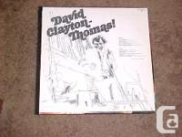 DAVID CLAYTON THOMAS OF BLOOD, SWEAT AND TEARS FAME
