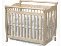 RETAILS - C$ 170  The Emily Mini Crib is the perfect
