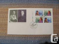 Five first day covers in mint problem.  * 100th anniv.
