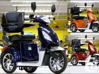 Daymak Rickshaw 3 Wheel Electric Mobility Scooter.best