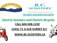 UNIQUE AND ALSO ONLY AVAILABLE AT B.C.SCOOTERS. THE ALL