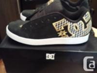 Looking to sell a pair of womens DC court graffik shoes