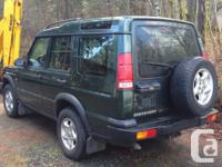 Make Land Rover Model Discovery Year 2000 Colour green
