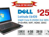 PRODUCT DESCRIPTION Make/Model: DELL Latitude E6420