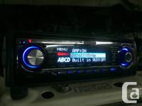 Deck CD Player Kenwood KDC-X791 MP3, plays CDs, CD-Rs,