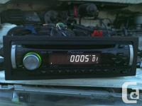 Deck CD Player Pioneer DEH-1900MP MP3, plays CDs,