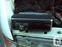 Deck CD Player Pioneer DEH-2000 MP MP3, plays CDs,