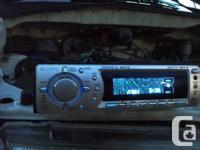 Deck CD Player Sony CDX-F7705X, MP3, plays CDs, CD-Rs,