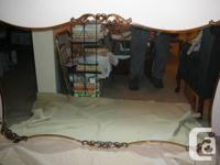 ***  Well manufacture mirror with a 1/8 hardboard