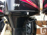 2007 Mercury 150 h.p. EFI 2-stroke outboard,
