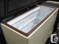 Deep freezer (Beaumark) clean and good condition 50