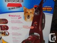 BISSELL ProHeat Deep Vacuum Cleaner   Up right deep